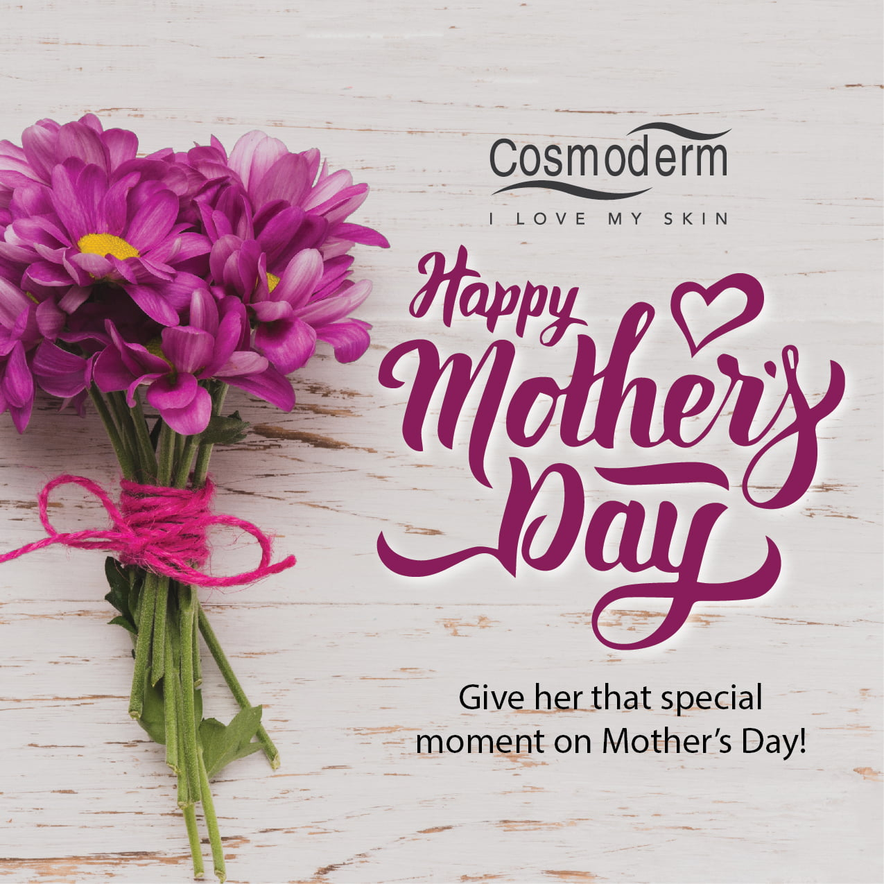 IDEA HADIAH HARI IBU : COSMODERM GIFT SET FOR MOTHER'S DAY