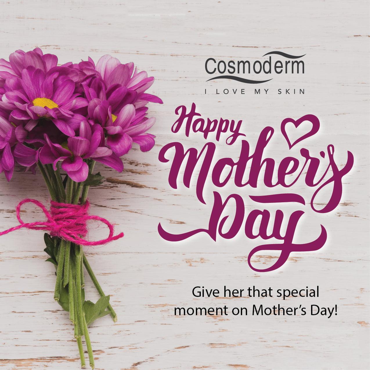 IDEA HADIAH HARI IBU : COSMODERM GIFT SET FOR MOTHER'S DAY