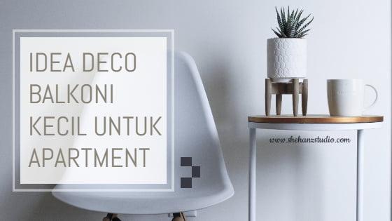 CARI IDEA DECO BALKONI KECIL UNTUK APARTMENT 1