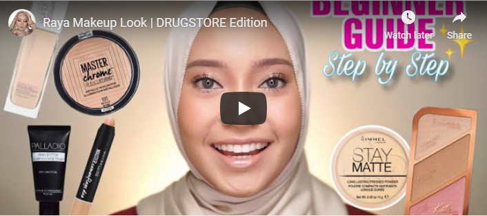 makeup tutorial ainaa nabilla